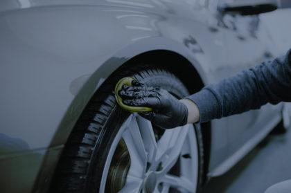 Polishing tire